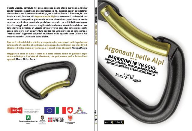 Copertina Libro Argonauti nelle Alpi